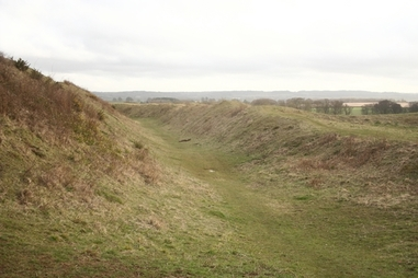 Iron Age Fort at Badbury Rings
