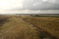 Iron Age Hill Fort at Badbury Rings