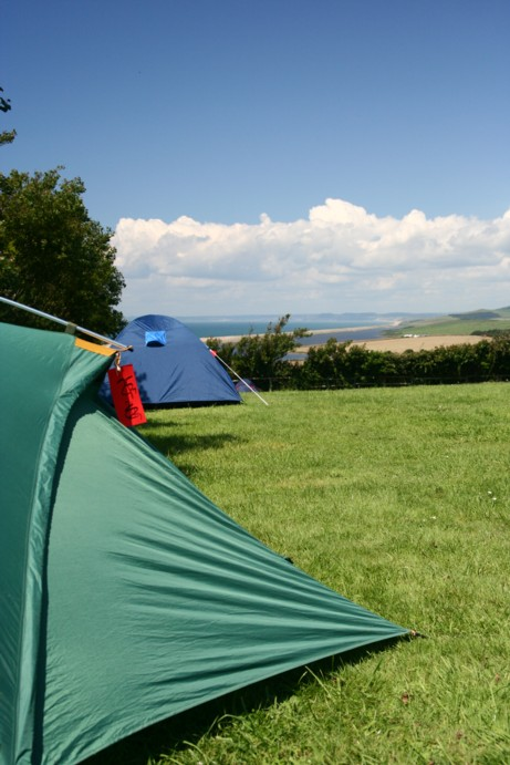 Tents at Sea Barn Farm