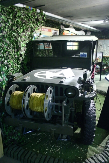 Jeep at the Royal Signals Museum