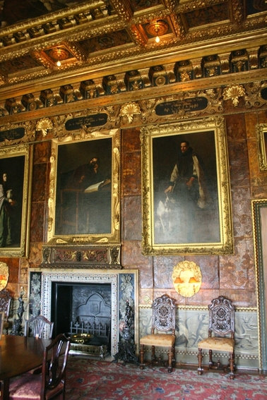 Portraits at Kingston Lacy House