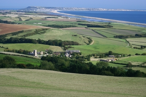 Abbotsbury and the Fleet Lagoon
