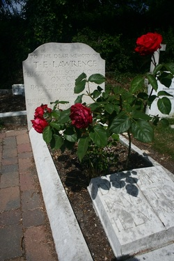 Lawrence of Arabia's grave at Moreton