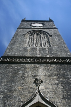 Church tower at Moreton